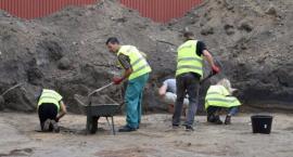 Na terenie byłego więzienia przy ul. Rakowieckiej odkryto fragment ludzkiej czaszki