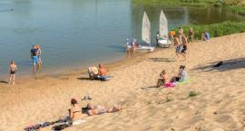 Chociaż zimno, wizja nowej plaży nad Jeziorkiem Czerniakowskim rozpala gorące emocje