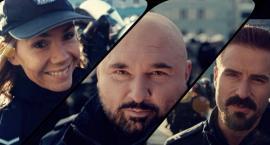 Aktorzy grający w filmach kryminalnych zachęcają młodzież do wstępowania w szeregi policji